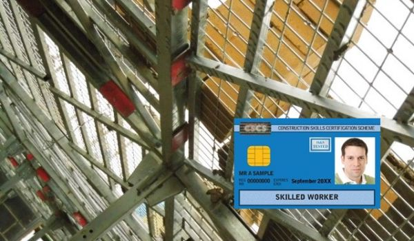 CSCS card for RhinoDeck training