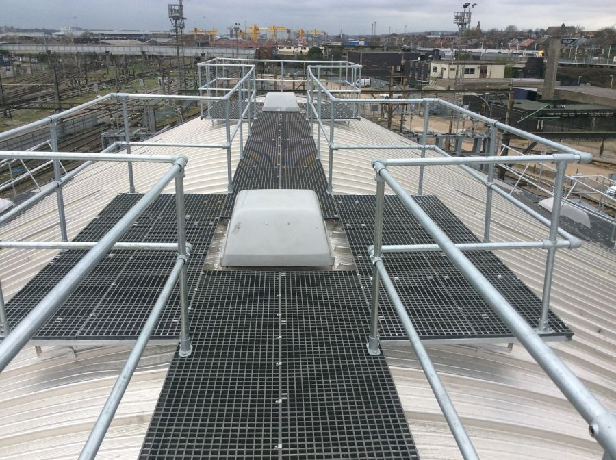 Safety Rooftop Walkway System   Sayfa - Fall Prevention Experts